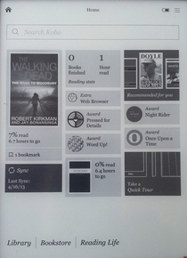 Kobo Aura HD Settings